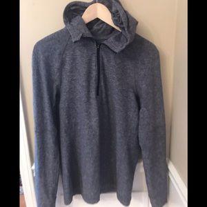Lululemon Zippered Jacket Grey Size Medium Unisex